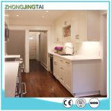 Grelha / Black / White Gabinete de cozinha Quartz Countertop Sink
