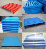 Almacenaje de acero durable resistente del almacén de la bandeja del metal de la paleta