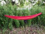 Hammock de acampamento dobro com cintas da árvore e nylon portátil de pouco peso do pára-quedas de Carabiners- para Backpacking