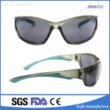 Bequeme leichte zwei Farbe Spiegel-im Freiensport-Sonnenbrillen