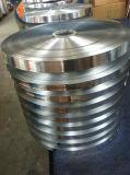 Aluminio compuesto de la hoja laminado de poliéster aluminio Alu Foil para cable coaxial