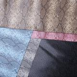 Unità di elaborazione Leather Leather di Pattern Synthetic del serpente per Shoes