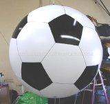Рекламировать изготовленный на заказ воздушный шар гелия формы, раздувной Зеппелин гелия, раздувной воздушный шар гелия круга СИД