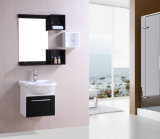Pvc Floor - opgezette Bathroom Storage Cabinets