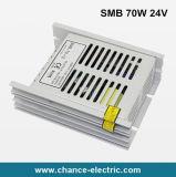 70W 24V 100V-260VAC ultra dünne Ein-Outputschaltungs-Stromversorgung