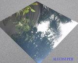 El panel de emparedado de aluminio de la capa de espejo