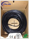 Câble de réseau du twisted pair Cat5e/Cat5/CAT6 de constructeur d'usine avec le messager