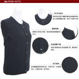 Resorte redondo de la rebeca del cuello de los yacs Gn1613/de la funda larga merina de las lanas y suéter de las mujeres del otoño