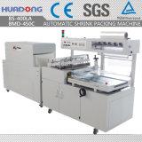 BS-400la + Bm-450c completamente automática de la película de encogimiento Envoltura de la máquina de embalaje
