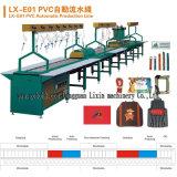 Machine automatique à injection de semelles de chaussures en PVC