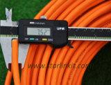 10g 650MHz LSZH 재킷을%s 가진 SFTP에 의하여 보호되는 Cat7 근거리 통신망 케이블