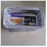 航空会社のアルミホイルの食糧容器