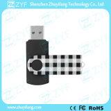 2016カスタムフルカラープリント(ZYF1813)が付いている新しいデザイン黒の旋回装置USB駆動機構