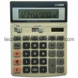 12 dígitos Dual a calculadora Desktop da tela ajustável da potência (CA1215)