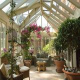 알루미늄 단면도 발코니 또는 유리 집 또는 정원 룸 일광실 (FT-S)