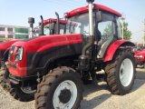 entraîneur de roue de ferme de 100HP 4X4 4WD avec le moteur diesel 6-Cylinder