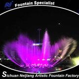 De Dansende Fontein van de muziek met Kleurrijke Verlichting in Vierkant