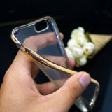 iPhone 6のための新しい超薄い透過安いTPUの携帯電話カバーケース