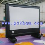 Écrans de films gonflables gigantes pour écran de film gonflable publicitaire / projecteur