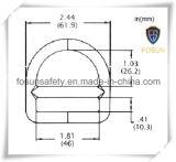 Arnés de seguridad accesorios de metal D-Rings (H215D)