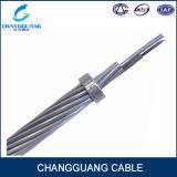 Câmara de ar central Opgw do aço inoxidável do cabo de fibra óptica profissional da potência da fabricação com única camada encalhada