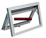 Finestra di alluminio della tenda lustrata doppio termico di qualità superiore della rottura