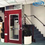 Elevatore domestico di vetro poco costoso dell'elevatore residenziale dell'interno di basso costo piccolo