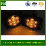 für Jeep geräuchertes LED-Drehung-Signal-Gelb-Vorderseite-Schutzvorrichtung-Rad-seitliches Licht