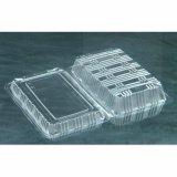 Caja de ensalada ecológica para mascotas Caja de plástico desechable para frutas claras