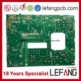 Doppelt-mit Seiten versehenes Leiterplatte 1.2mm 2L OSP V0 medizinisches Device Gedruckte Schaltkarte
