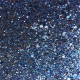 Couro quadrado do plutônio do Glitter de Sequines para as caixas de presente Hw-552