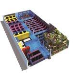 Mais novo personalizado Preço maravilhoso Kids Amusement Indoor Playground Equipment