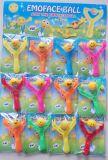 Het grappige Plastic Speelgoed van de Glimlach van de Jojo van het Elastische Speelgoed Kleverige