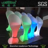 Mobilia dell'interno chiara del patio di illuminazione della presidenza della barra del ristorante LED