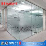 Porte de pliage de partition de bureau en verre Tempered
