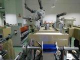 Hendido automático de papel estampado en caliente de la máquina troqueladora