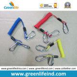 Dispositivo retractable de las cuerdas en espiral fuertes del alambre para las herramientas seguras