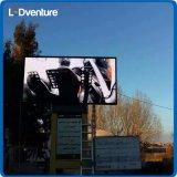 Grand écran polychrome extérieur de DEL pour la publicité commerciale