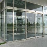 内部の外部の商業ステンレス鋼の機密保護のガラス出入口