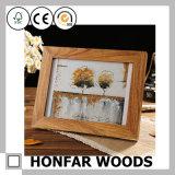 Высокосортная рамка фотоего изображения твердой древесины для украшения гостиницы