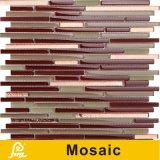 Mosaico horizontal caliente del vidrio cristalino de la mezcla de la venta 8m m para la serie del horizonte de la decoración de la pared (horizonte S C01/C02/C03/C04/C05)
