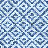Il triangolo ha modellato le mattonelle di mosaico per il disegno della priorità bassa della stanza da bagno della piscina