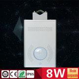 indicatore luminoso di via di 8W LED con tutti in un sensore di PIR
