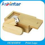 USB di legno Pendrive di memoria Flash del USB della parte girevole