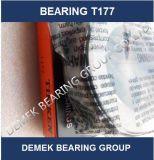 Rolamento de pressão T177 do rolo do atarraxamento de Timekn Torrington