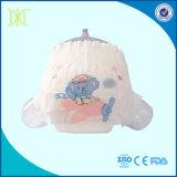 Pamper tecidos descartáveis do bebê com a faixa do elástico do Hug