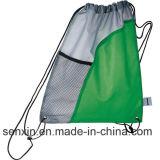 Polyesrerのドローストリングのバックパック袋