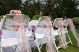 Plástico/metal al por mayor de la silla de plegamiento de la fábrica para la boda/la oficina/al aire libre
