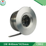 Governo di alluminio spazzolato Downlight del materiale LED