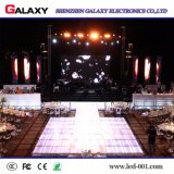 Pantalla/visualización de P3/P4/P5/P6 LED para el acontecimiento, alquiler de la alta definición de interior